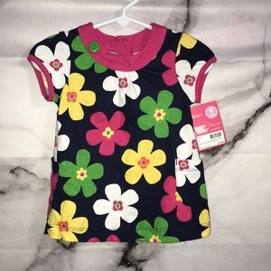 Floral Tunic 9 months No Pants NEW